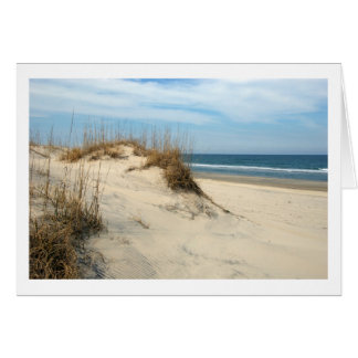 Outer Banks Dunes Card