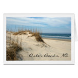 Outer Banks Dunes Stationery Note Card