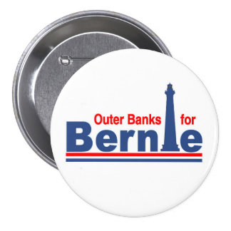 Outer Banks for Bernie 3 Inch Round Button