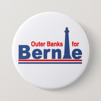 Outer Banks for Bernie Pinback Button