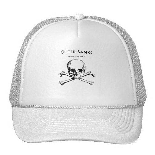 Outer Banks Jolly Roger Mesh Hats