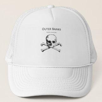 Outer Banks Jolly Roger Trucker Hat