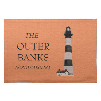 Outer Banks Lighthouse Cloth Placemat