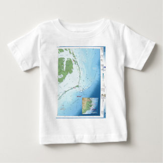 Outer Banks Map Baby T-Shirt