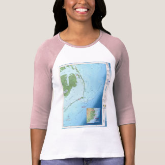 Outer Banks Map T-Shirt
