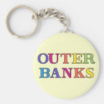 Outer Banks NC Colors Keychain
