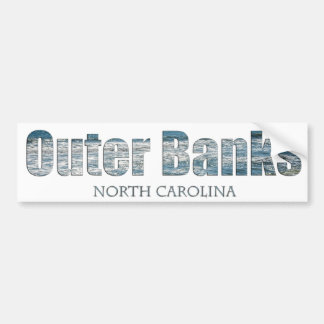 Outer Banks North Carolina Bumper Sticker