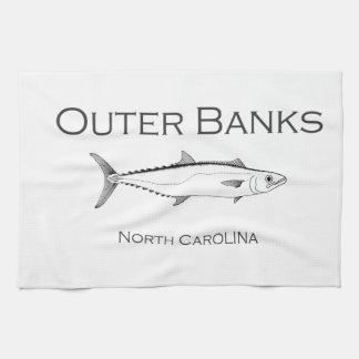 Outer Banks North Carolina King Mackerel Kitchen Towel