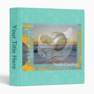 Outer Banks North Carolina Seashell & Surf Binder