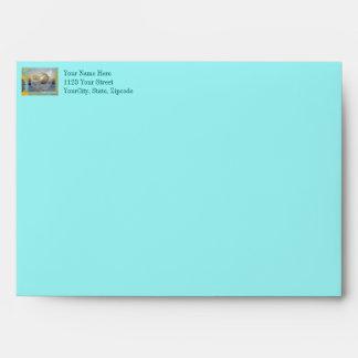 Outer Banks North Carolina Seashell & Surf Envelopes