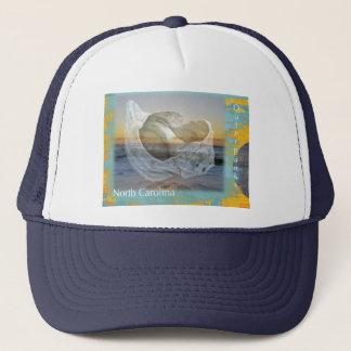 Outer Banks North Carolina Seashell & Surf Trucker Hat