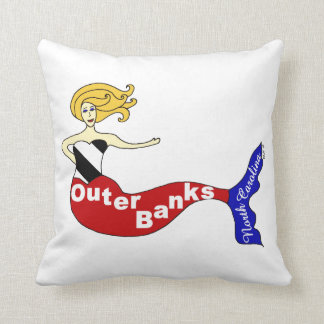 Outer Banks, North Carolina Throw Pillow