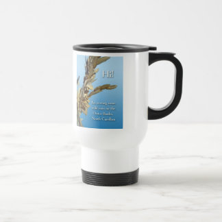 Outer Banks North Carolina Wild Oats Travel Mug