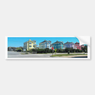 Outer Banks OBX Homes North Carolina Bumper Sticker