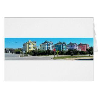 Outer Banks OBX Homes North Carolina Card