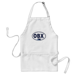 Outer Banks Oval Design. Aprons