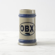 Outer Banks Oval Design. Beer Stein