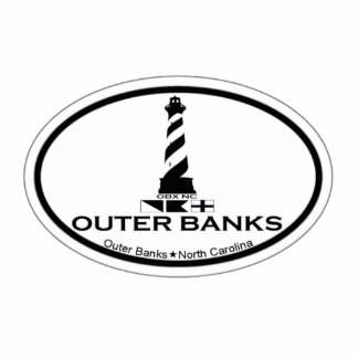 Outer Banks Acrylic Cut Out