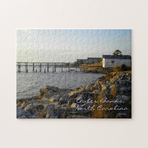 Outer Banks Puzzle, Sound Side Jigsaw Puzzle