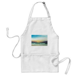 Outer Banks Sunrise Adult Apron
