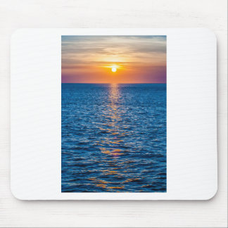 outer banks sunrset at cap hatteras mouse pad