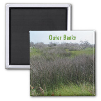Outer Banks Tidal Salt Marsh Coordinating Items 2 Inch Square Magnet