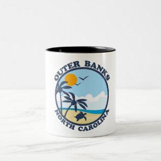 Outer Banks. Two-Tone Coffee Mug