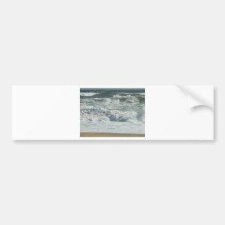 Outer Banks Wave Crash Bumper Sticker