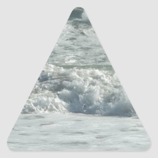 Outer Banks Wave Crash Triangle Sticker