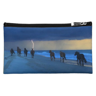 Outer Banks Wild Horses Lightning Cosmetic Bag