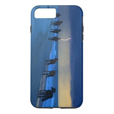 Beach Themed Outer Banks Wild Horses Lightning iPhone 7 Plus Case