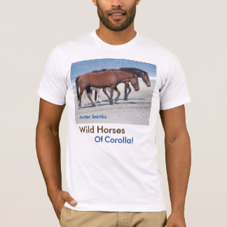 Outer Banks Wild Horses T-Shirt
