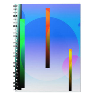 Outer Dimension Spiral Notebook