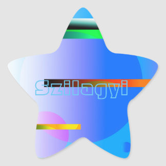Outer Dimension Star Sticker
