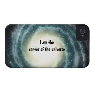 Outer Space Center of the Universe Blackberry Case