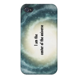 Outer Space Center of the Universe iPhone 4/4S Cover