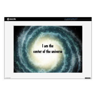 Outer Space Center of the Universe Laptop Decals