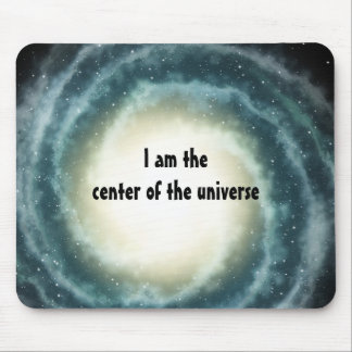 Outer Space Center of the Universe Mouse Pad