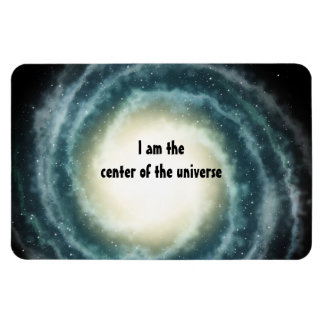 Outer Space Center of the Universe Rectangle Magnet
