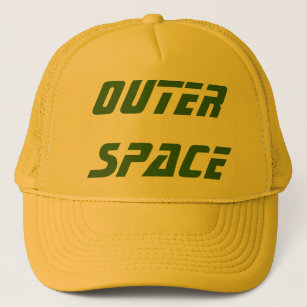 OUTER SPACE - Customized equipment Trucker Hat b80e35cfb7c
