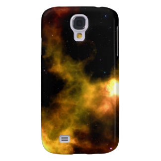 Outer Space Dark Star Nebula: Astronomy Purple Galaxy S4 Cover