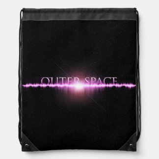 Outer Space Drawstring Backpack