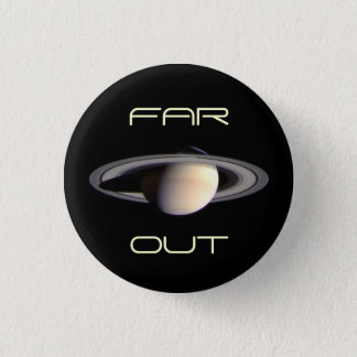 Outer Space is Heavenly Pinback Button
