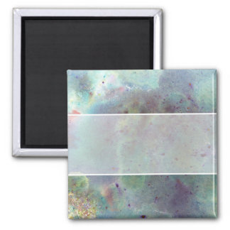 Outer Space. 2 Inch Square Magnet