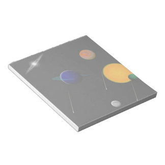 Outer Space Note Pad