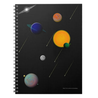 Outer Space Notebook