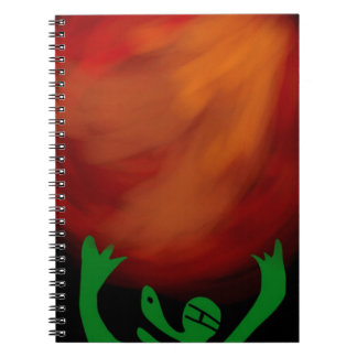 * Outer space or ge* SPACE LIZARD!! PLANET!! Notebook