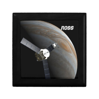 Outer space planet and probe gift box