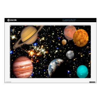 Outer space planets galaxy laptop skins
