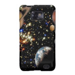 Outer space planets galaxy Samsung phone case Galaxy S2 Case